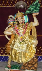 Hanuman 179x300   Hanuman, the eleventh avatar of Shiva