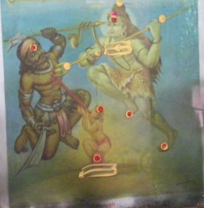 Mahakaleshwar slays Andhakasur