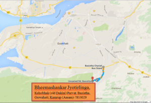 Bhimashankar Dham Map Zoom